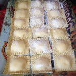 Homemade Ravioli, one of our cooking class recipes
