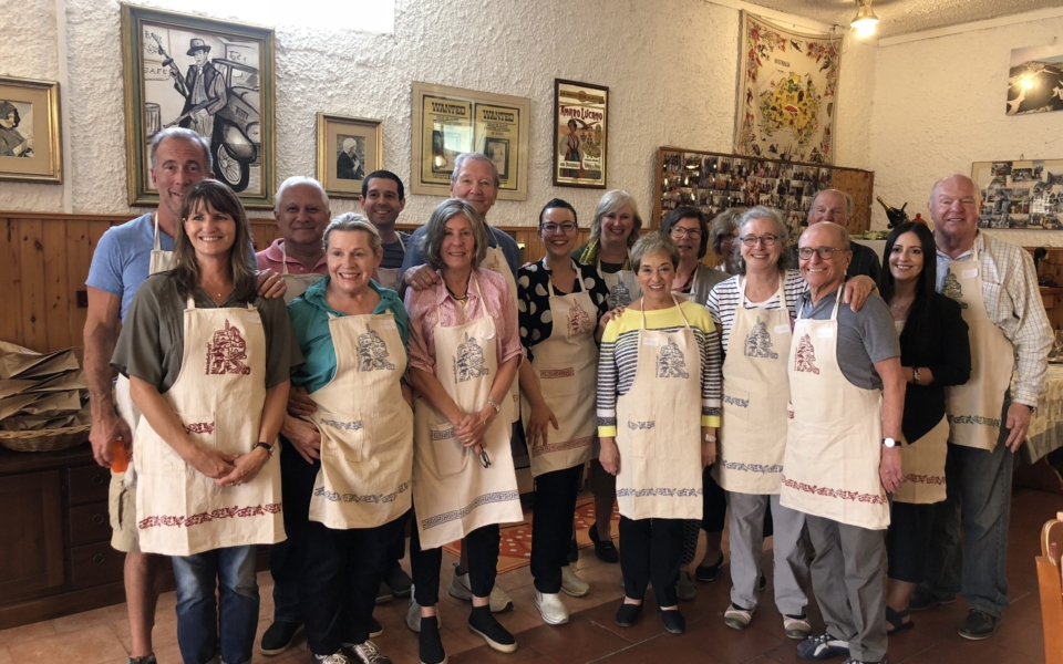 Big group cooking class