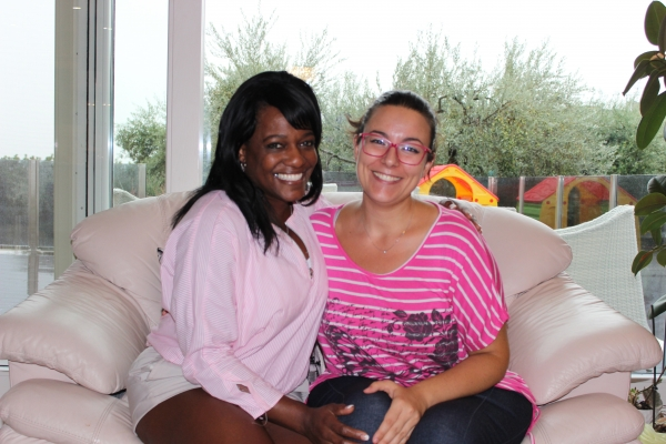 Mary and her friend from Texas
