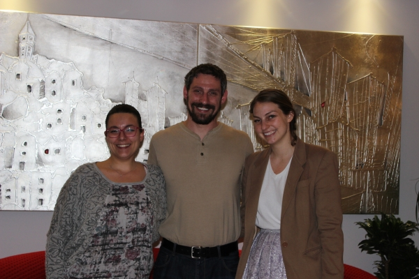 Mary and her American guests from London