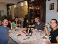 Dinner with our great guests