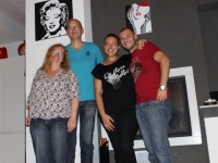 Mary & her guests from The Netherlands